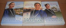 The Pebble Creek Amish Vol.1,2,3 Complete Set by Vannetta Chapman Paperback