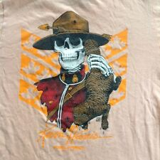 ORIGINAL 1986 KEVIN HARRIS MOUNTIE T-SHIRT POWELL PERALTA VINTAGE SKATEBOARD 80s