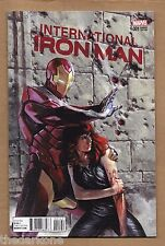 INTERNATIONAL IRON MAN #1 DELL OTTO  INCENTIVE VARIANT ! MARVEL NOW