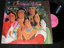 Gatefold HAWAII Christmas Lp CHRISTMAS ALOHA 1975 Maile Aloha Singers FINE SHAPE