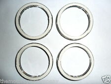 EXHAUST GASKETS for KAWASAKI ZR7 SET OF 4 Asbestos free