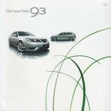 SAAB 9-3 2007 BROCHURE PROSPEKT CATALOGUE FOLDER