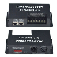 12V DMX 512 5A 4 Channels Decoder Controller for 5050 RGBW LED Light Strip Lamp