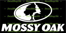 Mossy Oak - Outdoor Hunting Apparel - Vinyl Die-Cut Peel N' Stick Decals