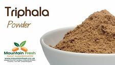 Organic Triphala Powder - Three Fruits - Indian Superfruits 25g FREE UK Delivery