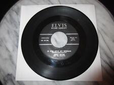 45 RPM Elvis 900 OG Jimmy Witter If You Love My Woman HEAR AAAAAAHHH! ROCKABILLY