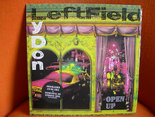 VINYL MAXI – LEFTFIELD & JOHN LYDON (SEX PISTOLS PIL) : OPEN UP – ELECTRO HOUSE