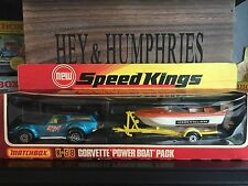 Matchbox speedkings k-58a-1. version producto escaso set Mint OVP Nicolae Mint from 1976