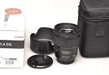 Sigma 50mm f1.4 DG HSM tipo F. Nikon