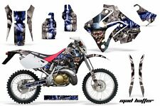 Honda Graphic Kit AMR Racing Bike Decal CRM  250AR Decal MX Part ALL HATTER BLUE