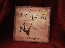 Dear Friend  I'M Here For You by Stacie Orrico  HC Book with CD & Lyrics 2001