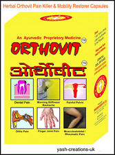 REPL Orthovit Muscle Pain Relief Herbal Capsules for All body parts.