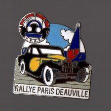 Pin's rallye Paris Deauville - FFAE Fédération Francaise Automobiles Epoques EGF
