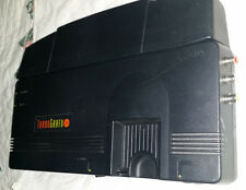 TurboGrafx Console Region FREE TG 16 AV alternate booster PC ENGINE 3 GAMES TGX■