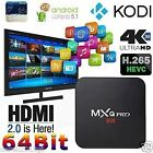 MXQ Pro Fully Loaded KODI 4K Android 5.1 Smart TV Box Quad Core Free Movie uk 1