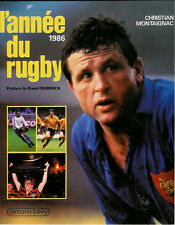 L'ANNÉE DU RUGBY - FRENCH RUGBY ANNUAL (no14) 1986