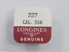 Longines Genuine Material Part #227 4th Wheel & Pinion for Longines Cal. 506