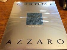 CHROME BY LORIS AZZARO MEN COLOGNE 3.4 OZ EDT SPRAY