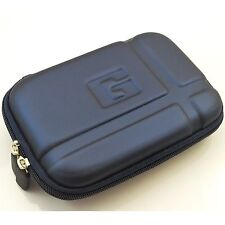 """Blue 5.2"""" Inch Hard GPS Carrying Pouch Cover Case for Garmin Nuvi 1450lmt 1490"""