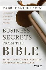Business Secrets from the Bible : Spiritual Success Strategies for Financial