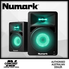 NUMARK N-Wave 580L Powered Monitor Speakers with Pulsating Lights - Nwave