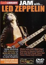 Lick Library JAM WITH LED ZEPPELIN Jimmy Page Style Guitar Video Lesson DVD+CD