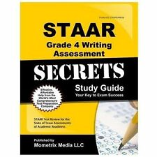 STAAR Grade 4 Writing Assessment Secrets Study Guide : STAAR Test Review for...