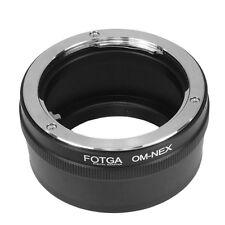 Olympus OM Lens To Sony E Mount Adapter NEX 5 6 7 3 3N 5R F3 5N C3 A7 II R A6000