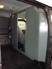Van Safety Partition, Bulkhead opening in the center GMC Savana, Chevy Express