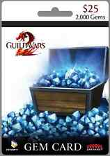 Guild Wars 2. Gems 2000 Card - PC  [Email serial key delivery]