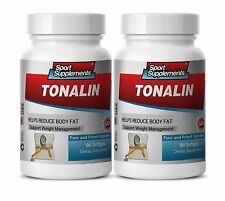 TONALIN. Weight Management. Helps Reduce Body Fat (2 Bottles) Free Shipping