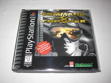 Command & Conquer (PlayStation PS1) Game Complete Excellent!