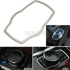 Steel Console Multimedia Switch Button Cover Trim For BMW 3 5 Series F30 320 328