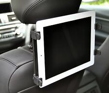 "Adjustable Rotation In Car Headrest Seat Mount Holder For iPad Tablet 7"" To 11"""