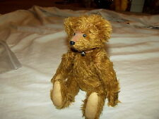 Amazing Vintage Jointed Teddy Bear Soft Mohair Glass Eyes Signed Rosemary Weakly