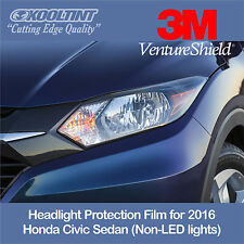 Headlight Protection Film by 3M for the 2016 Honda Civic Sedan Non-LED
