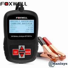 FOXWEL BT100 12V Auto Battery Tester Battery Analyzer Vehicle Car AGM GEL CCA