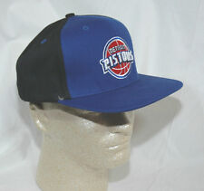 Detroit Pistons Hat Cap Official Team NBA Elevation  Blue & Black NEW