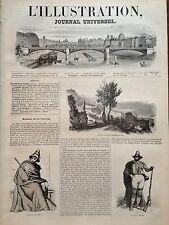 L'ILLUSTRATION 1844 N 58 LA CALABRE: PAYSAN ET BRIGAND,LA VILLE DE COZENZA