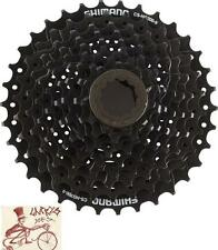 SHIMANO CS-HG20-9 HYPERGLIDE 9 SPEED---11-34T BLACK MTB BICYCLE CASSETTE
