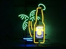 Corona Extra Bottle Palm Tree Neon Light Sign 20''X16'' H606 ship from USA