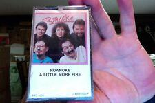 Roanoke- A Little More Fire- new/sealed cassette tape- 1984- Big Byte label