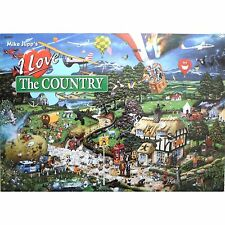 Gibsons j' aime le pays humoristique Mike Jupp 1000 piece puzzle