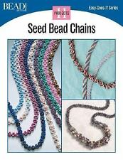 BOOK Seed Bead Chains 11 Projects Paperback Instruction Pattern Project Guide