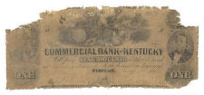 1855 Commercial Bank of Kentucky, Paducah - One Dollar Obsolete Note