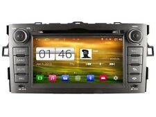 AUTORADIO DVD/GPS/NAVI/BT/DAB+/ANDROID 4.4.4 Player TOYOTA AURIS 2007-11 M028