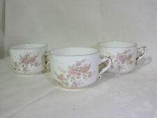 Rosenthal von 1891-1906,3 Biedermeier Kaffeetassen