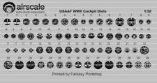 Airscale 1/32 WWII USAAF Instrument Dials (Decal) 3207 n