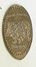 Disney 2010 Donald & Daisy Dlr Holiday Pressed Elongated Nickel Dl0487 Retired
