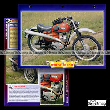 #042.10 Fiche Moto MZ ETS 250 /1 ISDT SIX DAYS REPLICA 1976-1978 Motorcycle Card